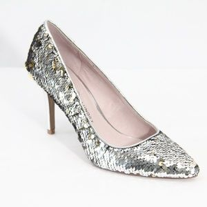 Chinese Laundry Sequin Heels New Stiletto Shoes